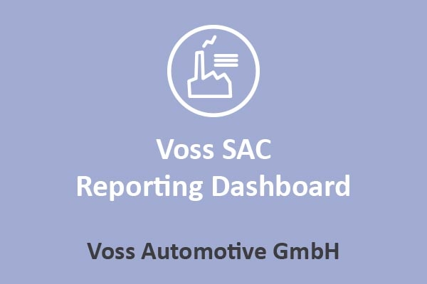 Voss Automotive - Voss SAC Reporting Dashboard